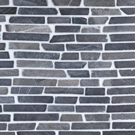 'Stick' harmaa marmori mosaiikki