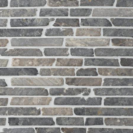 'Stick' vaalean harmaa marmori mosaiikki