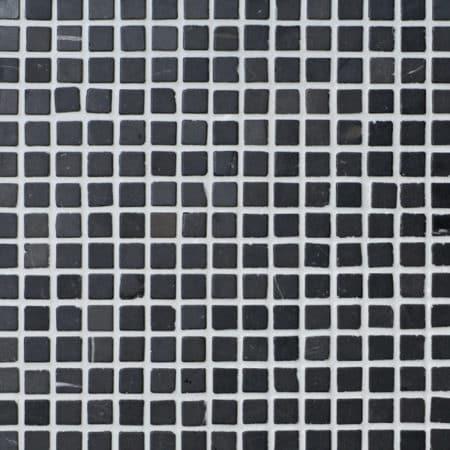 harmaa marmori mosaiikki 20x20mm