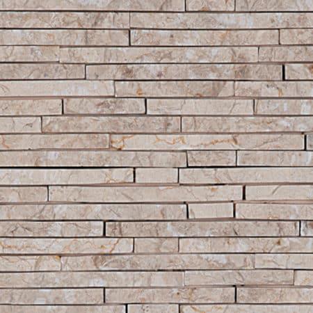 seinäkivet / julkisivukivet valkoinen, 15x100mm