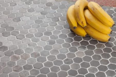kuusikulmainen Hexagon Mini harmaa