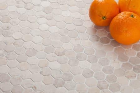 kuusikulmainen hexagon Mini valkoinen