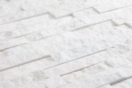 Valkoinen Quartz Z-kuvio 150x400mm