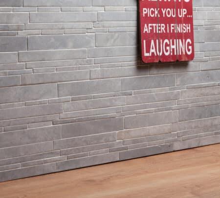 Legito vaalean harmaa seinäkivet / julkisivukivet, 300x300mm