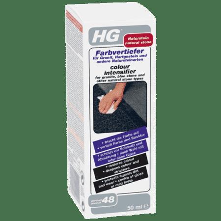 HG-värivahvistin marmorille, graniitille, siniselle kivelle ja muille