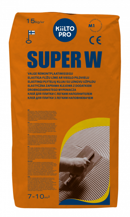 Kiilto Super W valge plaatimissegu